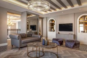 A seating area at Luxury Villa with private swimming pool