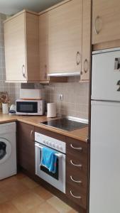 A kitchen or kitchenette at Piso moderno en Enix. Calle Roquetas de Mar n. 12 piso 5 F