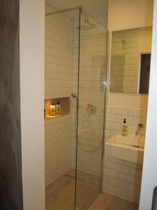 Kúpeľňa v ubytovaní Appartement Deutz/Messe 81