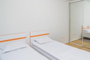 A bed or beds in a room at Luxury Apartment Adriatic