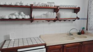 A kitchen or kitchenette at Sa Granja