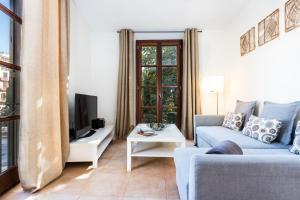 A seating area at Borne Suites - Turismo de Interior