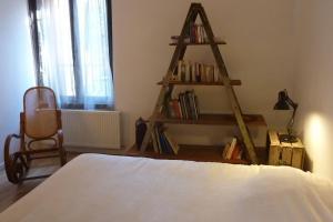 Un ou plusieurs lits dans un hébergement de l'établissement Harmonies'son