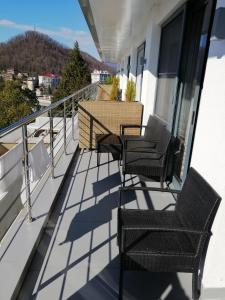 A balcony or terrace at Apartments Meridian