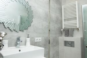 Ein Badezimmer in der Unterkunft Novel