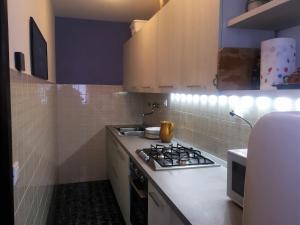 Virtuve vai virtuves aprīkojums naktsmītnē Casa Malerba
