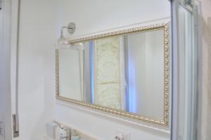 A bathroom at MariAnna's flat free wifi aircon