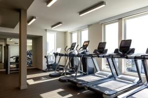 The fitness center and/or fitness facilities at Stay Alfred on Kettner Boulevard