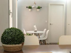 A bathroom at Apartamento Retiro y Serrano