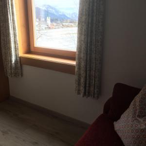 Een bed of bedden in een kamer bij Haus André