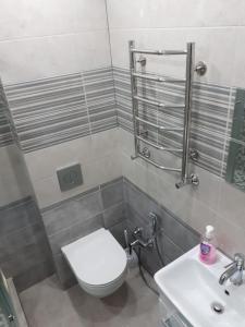 Ванная комната в Apartment Lenina 201
