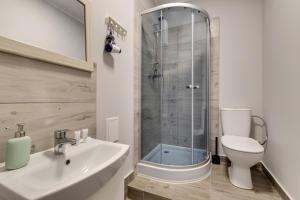A bathroom at Mickiewicza 28 Center Apartments