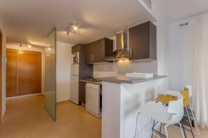 A kitchen or kitchenette at Mar Menor Golf Resort Casa Di Valentina