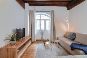 Predel za sedenje v nastanitvi Ljubljana Center Apartments