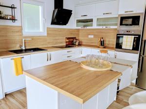 Kuhinja ili čajna kuhinja u objektu Villa Ola Mare