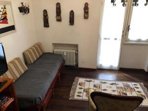 Area soggiorno di Delizioso appartamento in residence