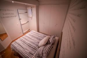 A bed or beds in a room at Zahr Albarracín