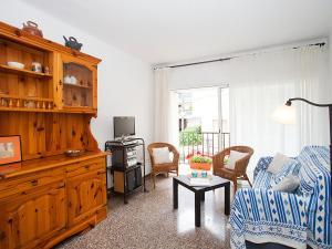 A seating area at Apartment Verdura