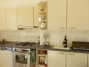 Küche/Küchenzeile in der Unterkunft Apartment Morgenstrasse