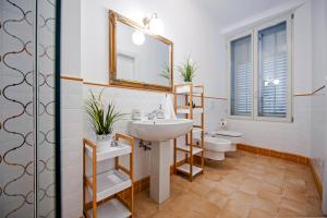 A bathroom at Adriatic Royal Apartment
