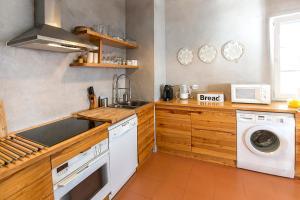 Kuchyňa alebo kuchynka v ubytovaní Silver Coast - Casa da Lagoa