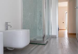 Koupelna v ubytování Atlantide holiday apartments
