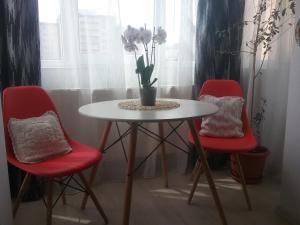 A seating area at LA MORENA BLANCA