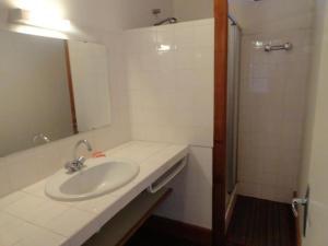 Salle de bains dans l'établissement House Saint-martin-le-redon - 4 pers, 65 m2, 3/2 1