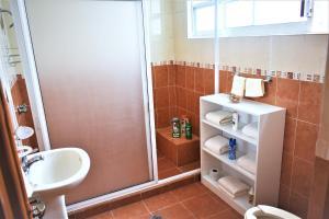 Salle de bains dans l'établissement Departamentos la Condesa