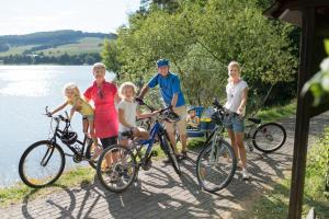 Radfahren an der Unterkunft sauerlandholiday oder in der Nähe