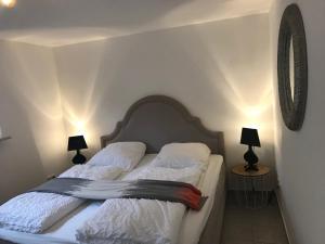 Letto o letti in una camera di Ferienhaus Friesenhus