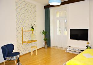 Телевизор и/или развлекательный центр в Navrátilova Apartment 4you