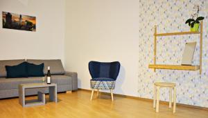 Гостиная зона в Navrátilova Apartment 4you