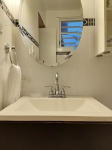 A bathroom at La Capitana Old San Juan