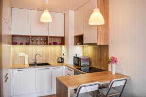 A kitchen or kitchenette at Apartment Rosslyn