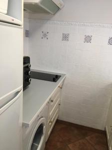 Cuisine ou kitchenette dans l'établissement Gites - Domaine de Geffosse