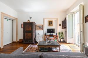 Zona de estar de R.C. Cappellari Charming Campo de Fiori