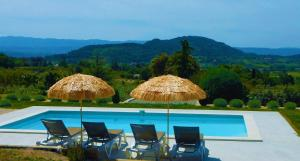 The swimming pool at or near LA BERGERIE - WELCOME TO LUBERON