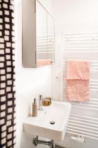 Ein Badezimmer in der Unterkunft Twin Apartment