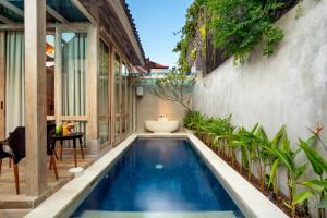 The swimming pool at or near 18 Suite Villa Loft at Kuta