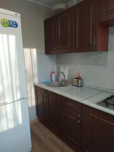 Кухня или мини-кухня в Квартира в центре Уфы. Премиум.