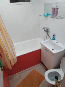 Ванная комната в Апартаменты на Красноармейской