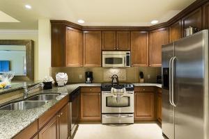 Cuisine ou kitchenette dans l'établissement Cabana Court Dream