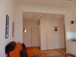 Area soggiorno di Coquet appartement centre-ville - Carré d'or