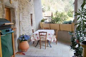 Restaurant ou autre lieu de restauration dans l'établissement Gîte Le Galta