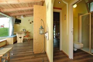 A bathroom at Holiday resort Fiemme Village Ballamonte di Predazzo - IDO01301-MYC