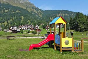 Children's play area at Holiday resort Fiemme Village Ballamonte di Predazzo - IDO01301-MYC