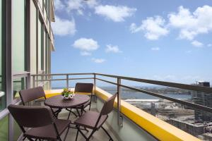 A balcony or terrace at OCEAN CITY VIEW SUITE PENTHOUSE