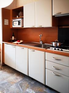 Кухня или мини-кухня в Aurelia Residence San Pietro Aparthotel