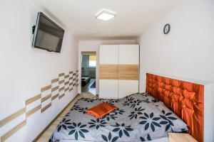 Łóżko lub łóżka w pokoju w obiekcie Mieszkanie Na Wakacje Świnoujście